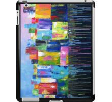 Colorful Abstract Cityscape iPad Case/Skin