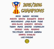 Barcelona 2015/2016 Spanish League Champions Unisex T-Shirt