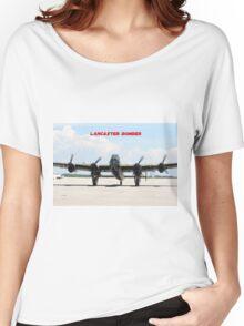 Lancaster Bomber Women's Relaxed Fit T-Shirt