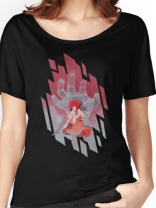 Steven Universe - Red Palette Lapis Women's Relaxed Fit T-Shirt