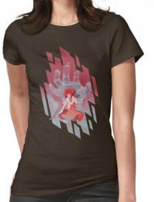 Steven Universe - Red Palette Lapis Womens Fitted T-Shirt