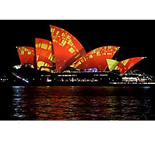 Vivid 2016 Opera House 25 Photographic Print