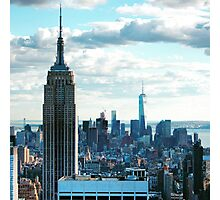 Empire State of Mind Photographic Print