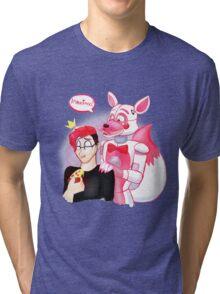 markiplier - it backs! Tri-blend T-Shirt