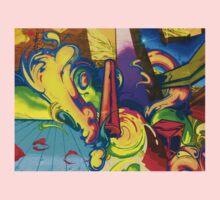 Street Art Colours One Piece - Long Sleeve