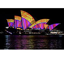 Vivid 2016 Opera House 28 Photographic Print