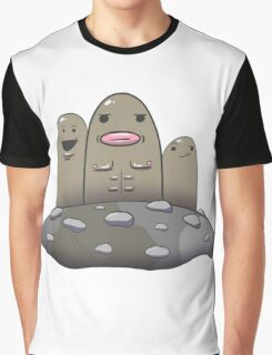 It's Dugtrio Motherf***ers Graphic T-Shirt