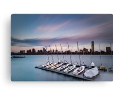 Sailing Pavilion on the Charles River Canvas Print