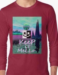 Trippy kEEp iT MeLLo Set Marshmello x Slushii Long Sleeve T-Shirt