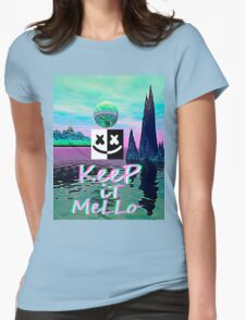 Trippy kEEp iT MeLLo Set Marshmello x Slushii Womens Fitted T-Shirt