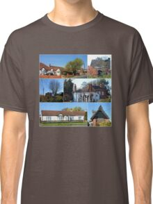 Cottages Collage Classic T-Shirt