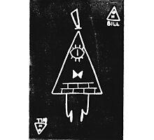 Bill Cipher print  Photographic Print