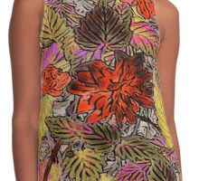 Floral #12a Contrast Tank