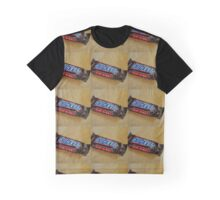 Snickers Fun Size Candy Bar Graphic T-Shirt