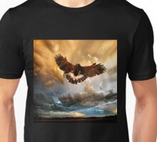 FLY HIGH! Original art by E. Giupponi Unisex T-Shirt