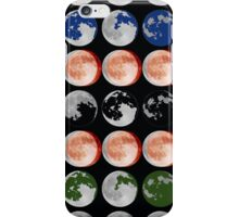 Crazy Moon iPhone Case/Skin