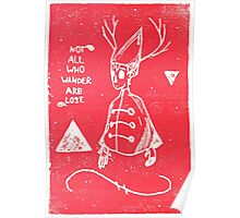 Wirt Over The Garden Print Poster