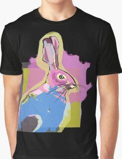 Mustard Hare Graphic T-Shirt