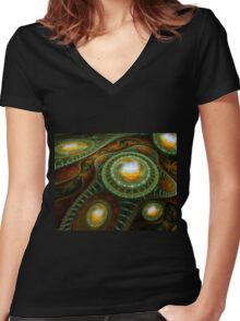 The Highest Reflection Women's Fitted V-Neck T-Shirt
