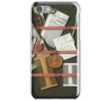 Edwaert Collier  - STill Life A Letter Rack.  Collier  - still life with  Letter. iPhone Case/Skin