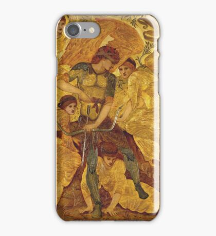 Edward Burne-Jones  - Cupid S Hunting Fields 1880. Burne-Jones  - woman portrait. iPhone Case/Skin
