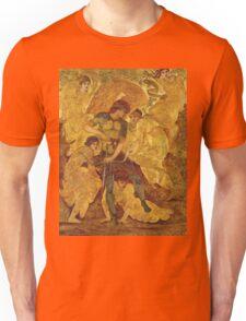 Edward Burne-Jones  - Cupid S Hunting Fields 1880. Burne-Jones  - woman portrait. Unisex T-Shirt