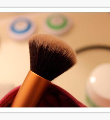 Makeup Brush Sticker