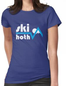 Ski Hoth Womens Fitted T-Shirt
