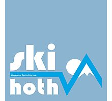 Ski Hoth Photographic Print