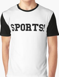Sports - version 1 - black Graphic T-Shirt