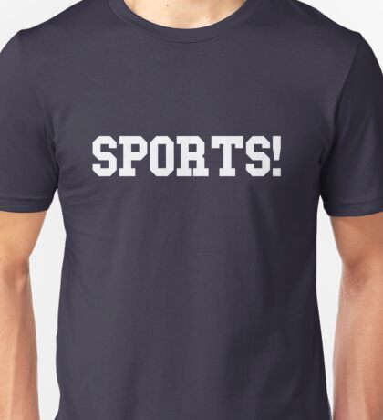 Sports - version 2 - white Unisex T-Shirt