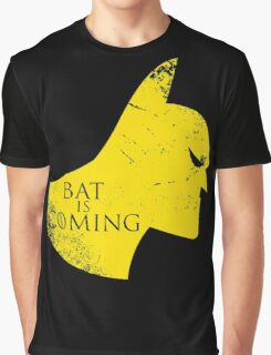 Bat is Coming Graphic T-Shirt