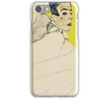 Egon Schiele - Reclining Boy. Schiele, Reclining Boy iPhone Case/Skin