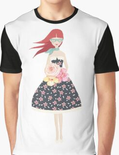 The Little Flora Graphic T-Shirt