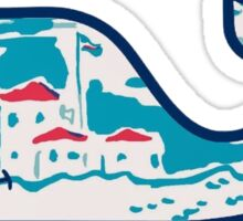 Vineyard Vines Whale Sticker Lilly Pulitzer Inspired Print Sticker