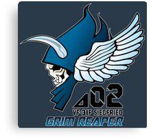 Macross Delta Grim Reaper Canvas Print