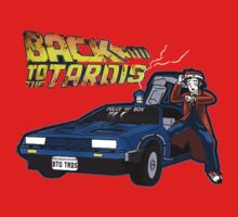 Doctor Who Back The Future One Piece - Long Sleeve