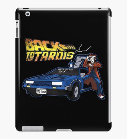 Doctor Who Back The Future iPad Case/Skin