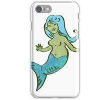 Jewel Mermaid Green Screen! iPhone Case/Skin