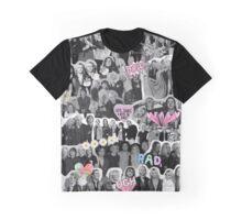 R5 Tumblr Collage Graphic T-Shirt
