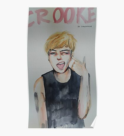 Crooked G-Dragon Poster