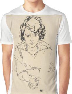 Egon Schiele - Seated Woman. Schiele - woman portrait. Graphic T-Shirt