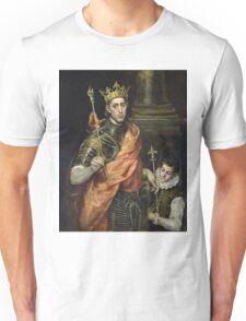 El Greco - St. Louis And His Page. El Greco - man portrait. Unisex T-Shirt