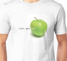 The naughty apple Unisex T-Shirt