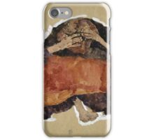 Egon Schiele - Troubled Woman. Schiele - woman portrait. iPhone Case/Skin