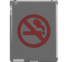 No smoking ~ Adventure Time iPad Case/Skin