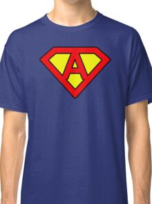 A letter in Superman style Classic T-Shirt