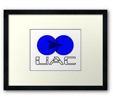 Old UAC Logo Framed Print