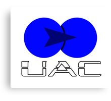 Old UAC Logo Canvas Print