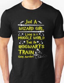 Wizard Girl Unisex T-Shirt